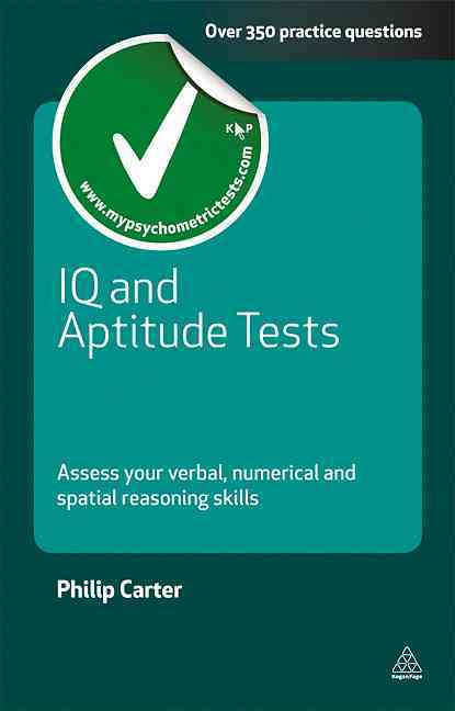IQ and Aptitude Tests By Carter, Philip